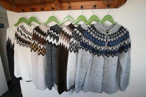 Hand knitted Icelandic wool sweaters