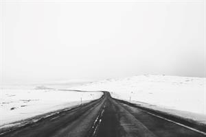 Winter road trip in Iceland