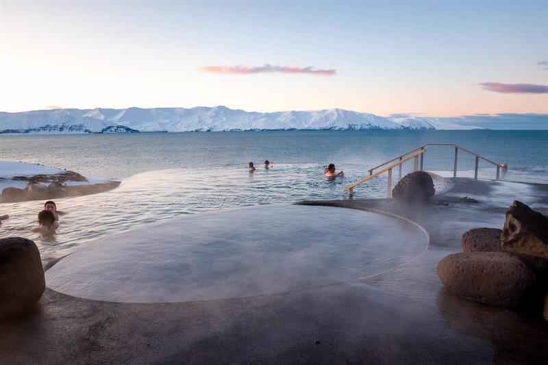 GeoSea Thermal Baths in North Iceland