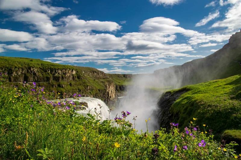 Follow Me Away - Gullfoss in the springtime