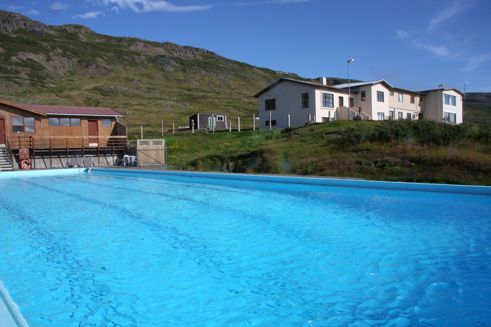 Hotel Laugarh Ll In The Eastern Part Of The West Fjords