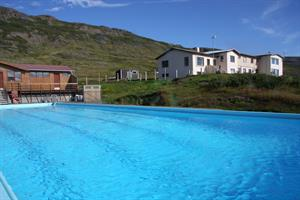 Geothermal swimming pool