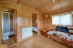 Cottage in category B, accommodating three persons