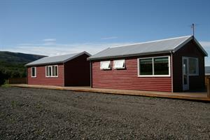 Cottages accommodating four and three persons