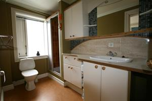 Bathroom of the four person apartment