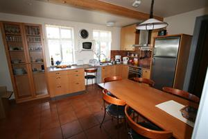 Kitchen of the seven person apartment