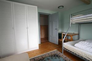 Bedroom of the seven person apartment