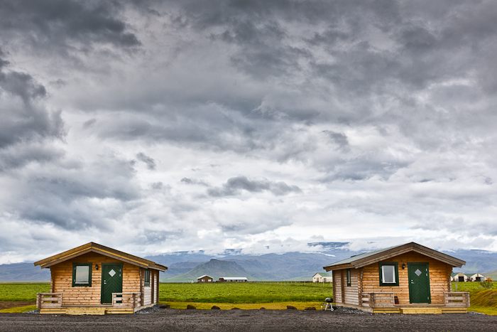 Cottages at Mi-Hvoll in South Iceland