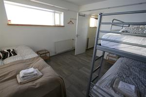 Double room with an extra bunk bed