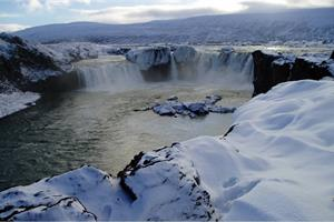 Goðafoss Waterfall, North Iceland