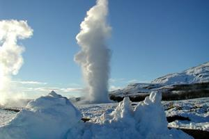 Geysir hot spring area - Golden Circle