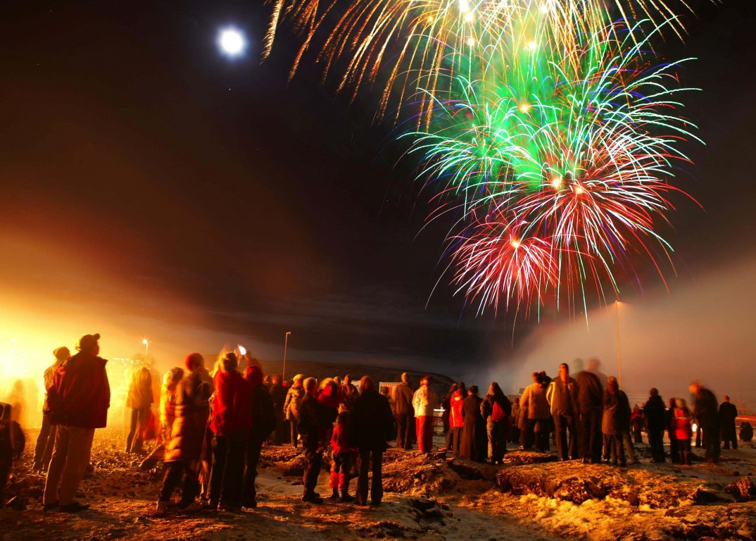 New Years' Eve in Iceland