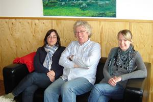 The family at Brekkulækur