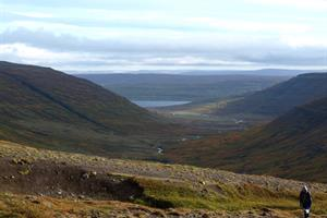 Heydalur is a great place for hiking and horse riding