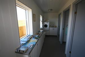 Hallway and washing facility
