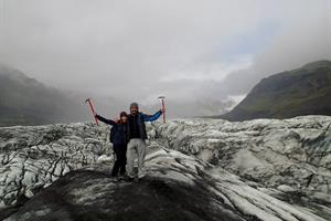 Glacier hike, South Iceland