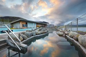 Laugarvatn Fontana, warm geothermal pools and natural steam rooms