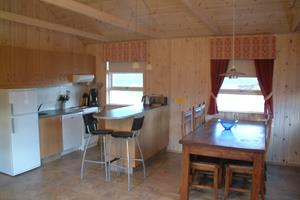 Kitchen of a 9 person cottage
