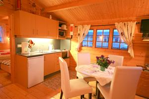 Kitchen in a cottage