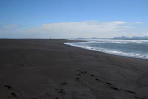 Black beaches in South Iceland