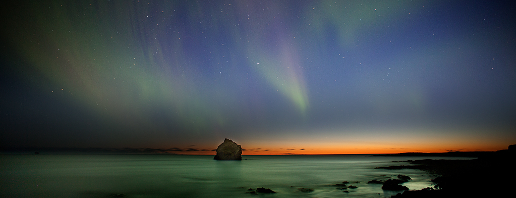 Northern lights - Reykjanes peninsula
