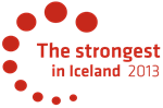 The Strongest in Iceland acknowledgement in 2013