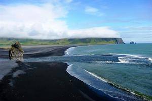 Black sand beaches near Vík
