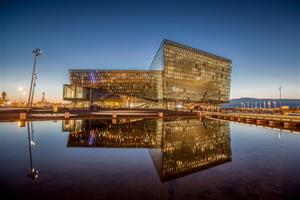 Harpa Concert and Conference Center in Reykjavík