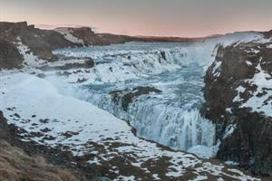 Gullfoss Waterfall, South Iceland