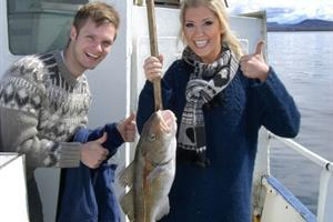 Happy anglers with their catch