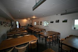 Dining area for guests