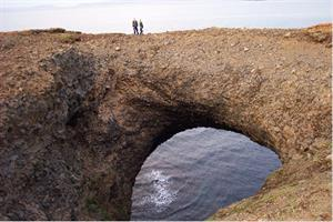 Brúin (The Bridge) at Rauðanes Peninsula
