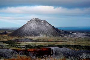 Enjoy a hike up one of Iceland's countless mountains, here Mt. Keilir on Reykjanes Peninsula.