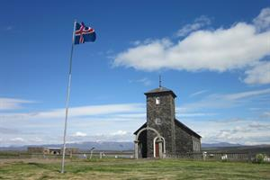 The parish church Þingeyrar