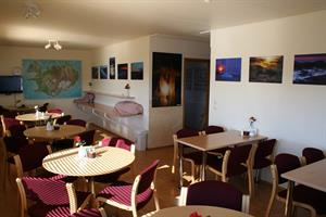 Photography exhibition in the dining room
