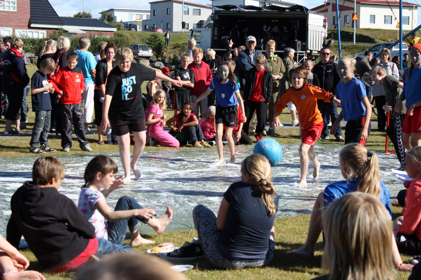 Family festival at Vogar in Reykjanes