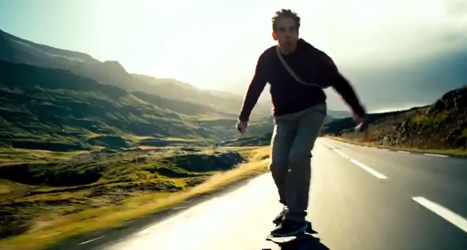 The Secret Life of Walter Mitty - Ben stiller - Iceland